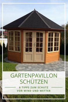Gartenpavillon Schützen: Wir Zeigen Ihnen Wertvolle Tipps Und Anleitungen,  Wie Sie Ihren Gartenpavillon Wind