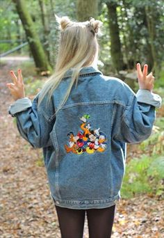 1990s Disney Denim Jacket £55.00 I swear my sister had this jacket in the 90's