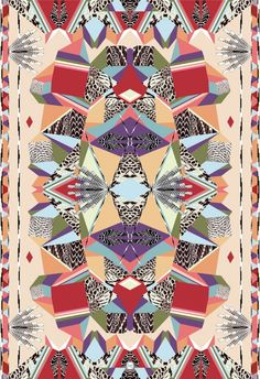 """LTVs, Forget Me Not , Shaman, scarf - pattern graphic - feather  """"Coco"""" Brun."""
