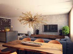 Apartment Interior 150m LCD Grand Park, Architectural bureau Alexandra Fedorova