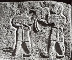 Hittite, musician, Alaca Höyük, Museum of Anatolian Civilization, Ankara (Kurt Bittel) (Erdinç Bakla archive)