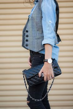 vested-chambray-7-2 by Alterations Needed, via Flickr