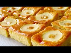 Bizcocho de manzana paso a paso. SIN aceite ni mantequilla - YouTube Cupcake, Ice Cream Candy, Holiday Dinner, Artisan Bread, Cake Pops, Just In Case, Pineapple, Cheesecake, Food And Drink
