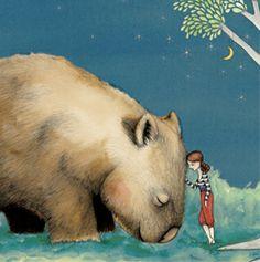 La La Land by flossy p. so cute, in case you were wondering it's a Wombat