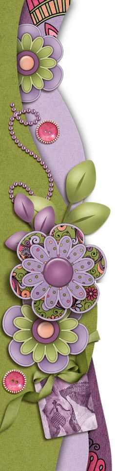 spring, primavera, cute borders, bordes, descargar, gratis, phtoscape, photoshop, png, fondo transparente