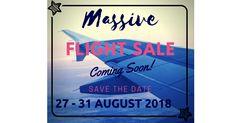 Flight sale next week!