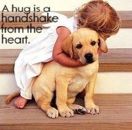 A child's love and a pet's love. Doggy Loot has more to show:) Check them out kids:) I Love Dogs, Puppy Love, Cute Kids, Cute Babies, Cute Puppies, Dogs And Puppies, Doggies, Baby Animals, Cute Animals