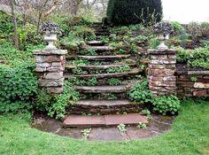 Free Image on Pixabay - Steps, Stone, Formal, Garden