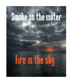 Smoke on the Water - Deep Purple - Classic Rock Lyrics Sing To Me, Me Me Me Song, Kinds Of Music, Music Is Life, Good Music, My Music, Music Stuff, Classic Rock Lyrics, Surf