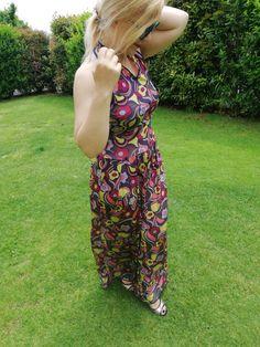 La tuta floreale - the floral jumpsuit