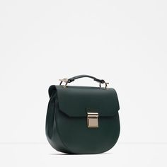 Image 2 of OVAL MESSENGER BAG from Zara
