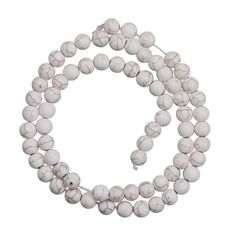 6mm Fashion White Turquoise Jewelry Beads Dangle for Necklace Making http://www.eozy.com/6mm-fashion-white-turquoise-jewelry-beads-dangle-for-necklace-making.html