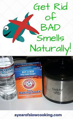 No need to put lots of chemicals into your home's air to get rid of smells. This is a natural and non toxic way to eliminate odors from your house naturally! The crockpot as an air freshener or odor neutralizer. Deep Cleaning Tips, Natural Cleaning Products, Cleaning Hacks, Diy Products, Cleaning Solutions, Natural Products, Old House Smells, House Smell Good, Deodorize House