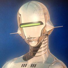 Stream AURORA by Spornick from desktop or your mobile device Retro Kunst, Retro Art, Arte Sci Fi, Sci Fi Art, Cyberpunk Kunst, Futuristic Art, Airbrush Art, Robot Art, Expo