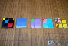 Use the decanomial square for pre-algebra and to demonstrate algebraic equations