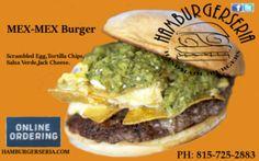Burger of the week!!! MEX - MEX  HAMBURGERSERIA