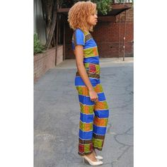 African Straight Jumpsuit(ASJTC2017) Dress Skirt, Fashion Brands, Jumpsuit, African, Hoodies, Lady, Tees, Skirts, Dresses