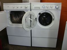 Portrayal of Perfect Used Apartment Size Washer and Dryer