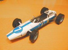 F1 Paper Model - 1964 Ferrari 158 Paper Car Free Vehicle Paper Model Download