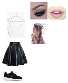 """""""Casual"""" by mfossy on Polyvore featuring MSGM, Madewell, NIKE and Fiebiger"""