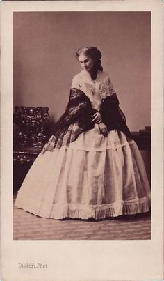 HIM Empress Elisabeth of Austria (1837-1898) nee Her Royal Highness Duchess Elisabeth in Bavaria