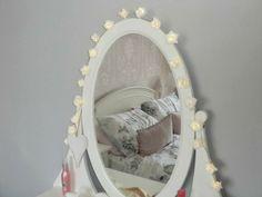 vanity setup on pinterest hemnes makeup brush storage and dressing tables. Black Bedroom Furniture Sets. Home Design Ideas