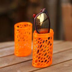 3D Printable Sunglasses case - Voronoi by Clement C. #3dprintingdiy