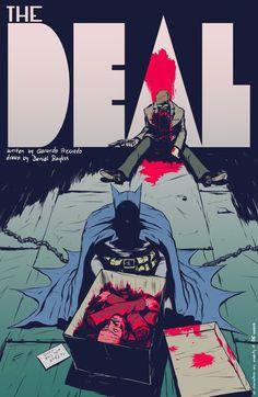A história mais violenta de Batman - e que jamais será publicada - Quadrinhos - Herói
