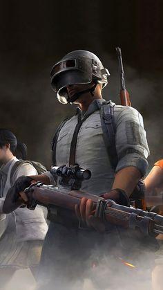 Video game, PlayerUnknown's Battlegrounds, helmet man, 1080x1920 wallpaper