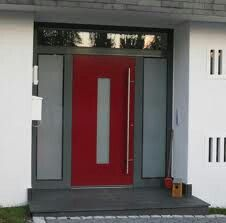 rote haust r an reihenhaus am merrion park dublin republik irland europa stock fotografie. Black Bedroom Furniture Sets. Home Design Ideas