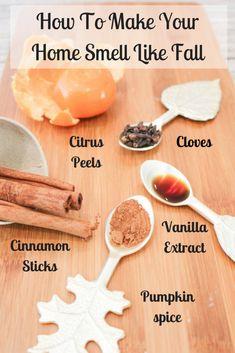 Homemade Potpourri, Potpourri Recipes, Stove Top Potpourri, Simmering Potpourri, Room Scents, House Smell Good, Herd, Fall Diy, Fall Home Decor