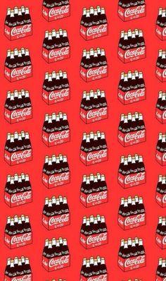 📱 Fond d'écran cellulaire – Coca Cola Vintage 📲 Inspirations de fonds. Cute Food Wallpaper, Red Wallpaper, Cute Patterns Wallpaper, Iphone Background Wallpaper, Kawaii Wallpaper, Cellphone Wallpaper, Aesthetic Iphone Wallpaper, Disney Wallpaper, Cartoon Wallpaper