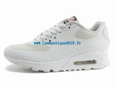 buy popular 6cd6c c765d Nike Air Max 90 Hyperfuse USA Chaussures Nike Pas Cher Pour Homme Blanc  613841-110