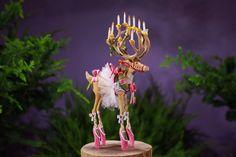 #patiencebrewster xmas decoration see more here http://www.sterlizie.com/art-design/decorazioni-per-lalbero-che-vi-faranno-piacere-di-piu-il-natale-gli-ornamenti-di-patience-brewster/   #deer #natale #renna #xmastree #ornaments #christmas #handmade