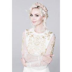 Singer Polina Gagarina in #vilshenko ss'14 dress @gagara1987