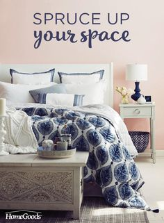 When the warmer weather hits, the cooler side of the pillow becomes that much more desirable.  Update your bedroom with lightweight comforters, crisp sheets, and a touch of cozy with soft pillows.  Read more about how to spruce up your space and welcome summer into your home on our blog!