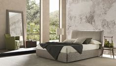 FAIR BIG BED by BOLZAN LETTI available at Haute Living