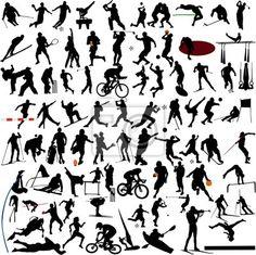 Wall mural sport collection vector - sport • PIXERSIZE.com