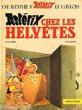 ASTERIX CHEZ LES HELVETES   EO 1970  BE+/TBE