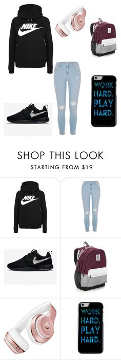 """Untitled #2"" by bindi1130 ❤ liked on Polyvore featuring NIKE, River Island, Victoria's Secret and Beats by Dr. Dre"