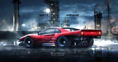 ArtStation - Inbound Racer Ferrari 288 GTO V2, Yasid Oozeear