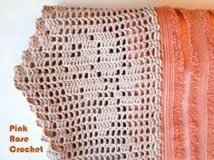 Resultado de imagem para barrado de croche para toalha de banho