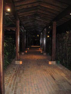 the pathways are always lite up at night!  <3  #iheartpuertovallarta