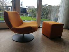 in jazz orange Danzig, Egg Chair, Floor Chair, The Hamptons, Lounge, Flooring, Type, Furniture, Design