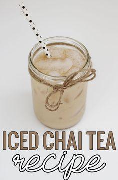 ... iced tea chai chai chai tea mix iced ginger chai chai iced tea