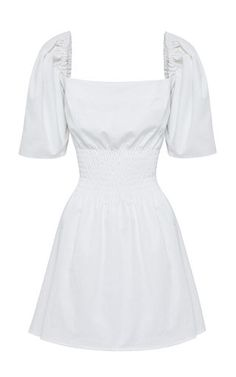 This **Anna Quan** Terri dress features a flattering waist shirring and statement puff sleeves. Sexy Dresses, Casual Dresses, Short Dresses, Fashion Dresses, Stage Outfits, Kpop Outfits, Cute Outfits, Dress Dior, Dress Up