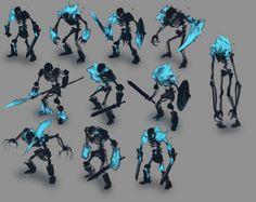 ArtStation - Frozen Maze - Ice Skeleton warrior, David Franco