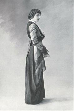 Robe d'après-midi, 1913.