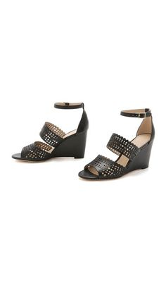 Tory Burch Perf Gladiator Wedges #Shopbop #MakeTheOutfit