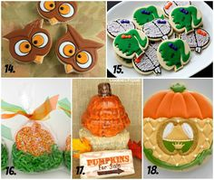 Pumpkin Project Collage 4 ~ 20+ Creative Ways to Use A Pumpkin g Cookie Cutter ~ sweetsugarbelle.com